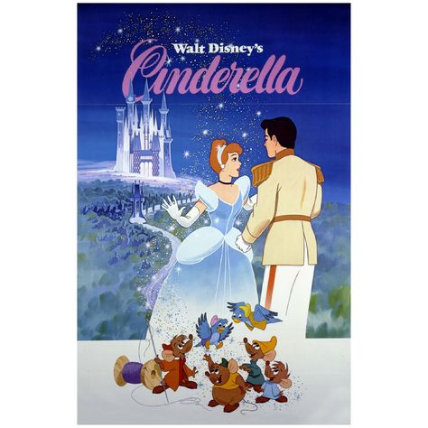 Cinderella: Movie Poster Mural - Officially Licensed Disney Removable Wall Adhesive Decal Large by Fathead | Vinyl