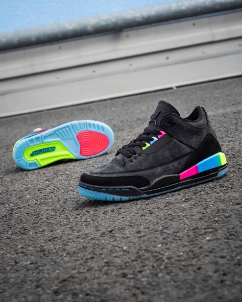 reputable site db754 39858 Nike Air Jordan 3 Retro SE Q54 GS