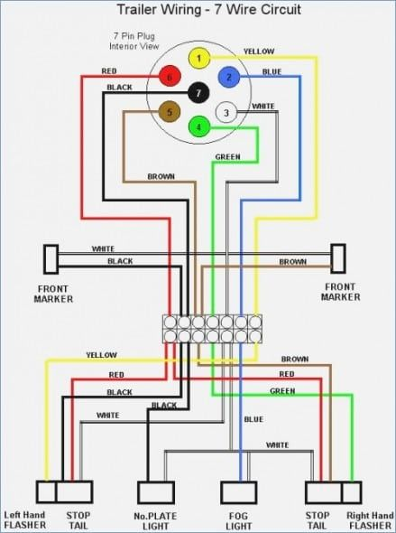 wiring diagram for gooseneck trailer in 2020 (with images ... 7 blade trailer wiring diagram on big tex 5 wire trailer wiring pinterest