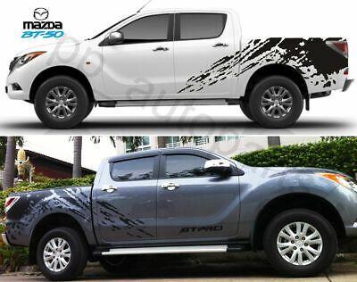 Matt Black Color Sticker Paint Mud Logo Cover Decal Vinyl For Mazda Bt50 12 13 In 2020 Mazda Ford Ranger Ranger Car