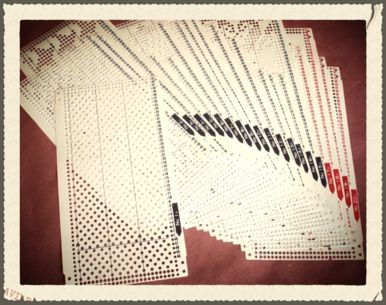 Free Punch Card Patterns By Brother Knitmaster Silver Reed And