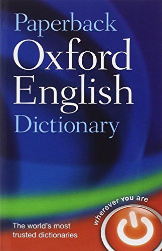 Paperback Oxford English Dictionary | Language | English