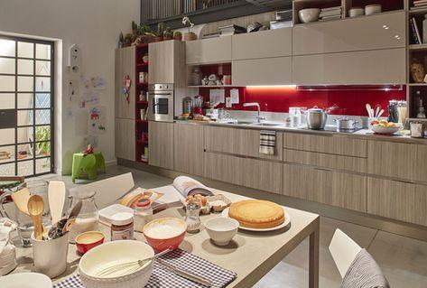Μοντέρνα επιπλα κουζινας Veneta Cucine - Μοντέλο CARRERA GO PLUS ...