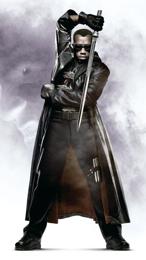 Blade (1998) Phone Wallpaper | Moviemania