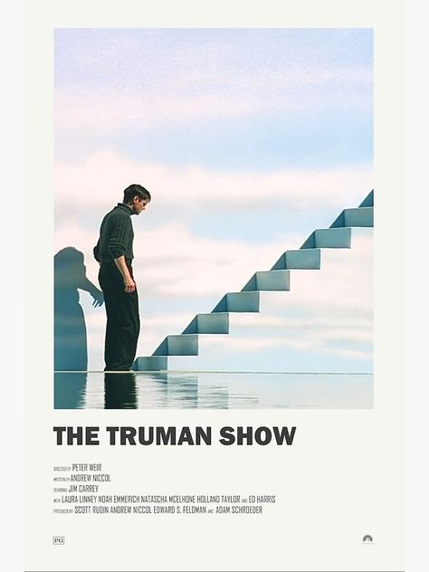 The Truman Show Alternate Movie Poster Poster by morganber