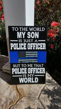 Check out this item in my Etsy shop https://www.etsy.com/listing/467167325/thin-blue-line-personalized-police-wood