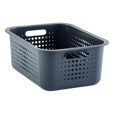 Charcoal Nordic Storage Baskets With