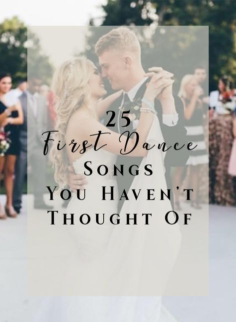 """Wedding Playlists 25 First Dance Songs You Haven't Thought Of """"One Man Band"""" – Old Dominion """"No One' Classic First Dance Songs, First Dance Wedding Songs, First Dance Lyrics, Wedding Song Lyrics, Wedding Playlist, Slow Dance Songs, Unique Wedding Songs, Country Wedding Songs, Saint James"""