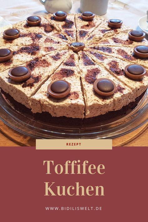 Ein leckeres und einfaches Rezept für einen Toffifee Kuchen bzw. Torte. Das Rezept ist leicht und für den Thermomix gemacht. Food, Cake