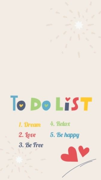 What Do You Want To Do In The Rest Of Your Life Remain True To Your Heart And Remember Your Dream You Can Find More Design Maker To Do List Wallpaper