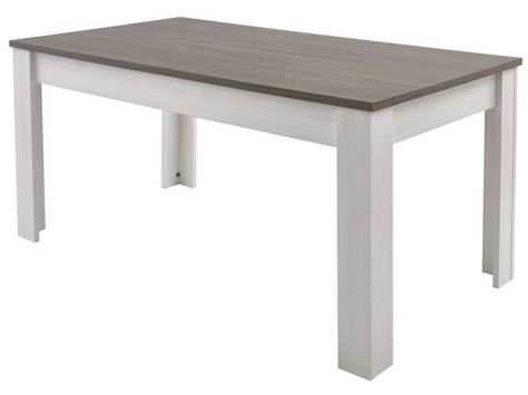 Table Avec Allonge Duke Coloris Blanc Vente De Table Conforama