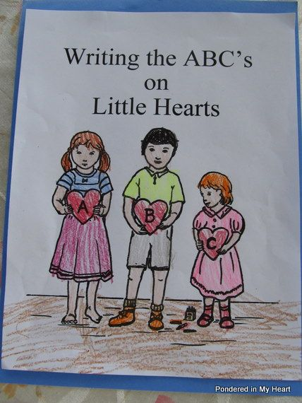 Really great coloring book depicting a virtue for each letter of the alphabet.