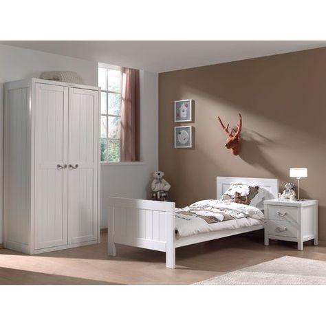 Lewis 3 Piece Bedroom Set Vipack