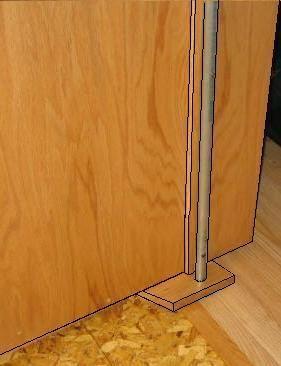 Free Hidden Door Plans How To Build A Hidden Door For A Safe Room Hidden Door Hidden Door Bookcase Door Plan