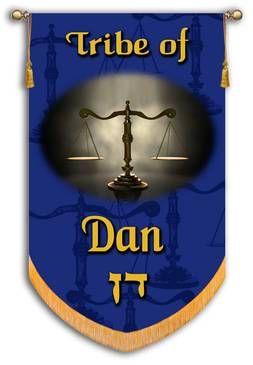Tribes Of Israel Tribe Of Dan Printed Banner En 2020 Tribu De