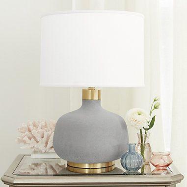Table Lamps Lamp Light Fixtures Ballard Designs Table Lamp Cement Table Lamp