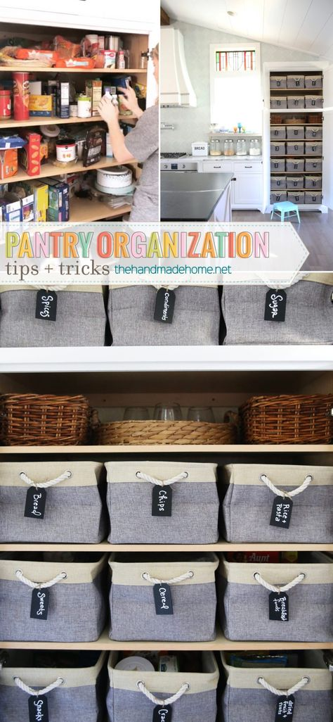 Pantry Organization Tips and Tricks  #PantryOrganizationTipsandTricks #Pantry #DIYPantry