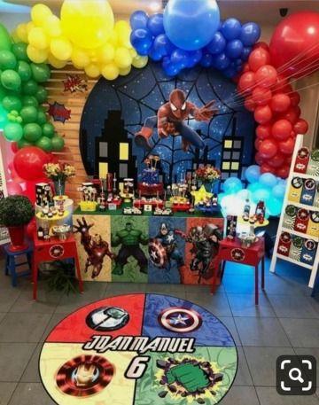 9 Ideas De Avengers Fiesta De Los Avengers Fiesta De Los Vengadores Cumpleaños De Los Vengadores