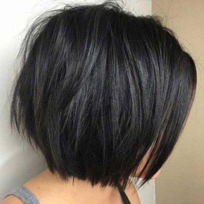 Neue Bob Frisuren Kurz Dunkel Fur Frisur Dicke Haare Haarschnitt Haarschnitt Bob