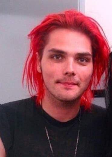 Super Hair Red Boy Gerard Way Ideas Super Hair Gerard Way Red Hair Red Hair