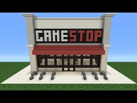 Minecraft Tutorial: How To Make A GameStop - YouTube