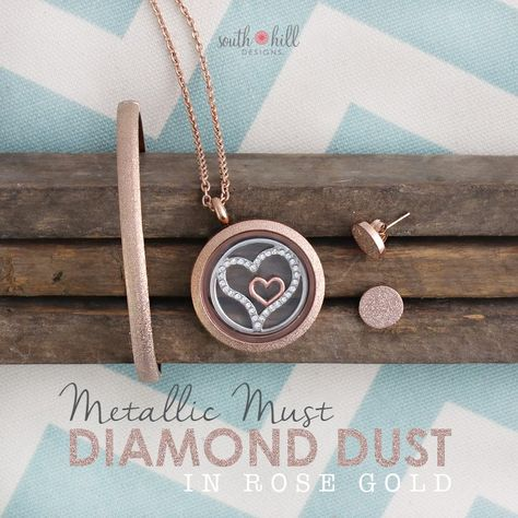 South Hill Designs Mialisia Oval Lockets WOval Screens Origami Owl Compatible