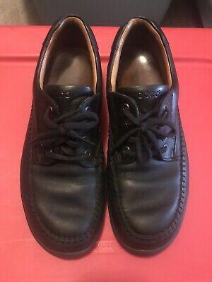 Ad)eBay - Ecco Seawalker Black Leather