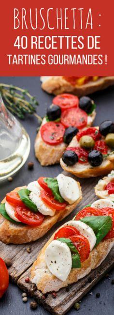 La bruschetta : 40 recettes de tartines gourmandes !