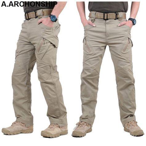 high waisted big pockets leisure jeans cargo pants
