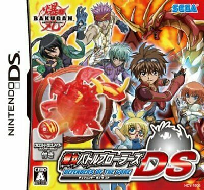 Ad Brand New Nintendo Ds Bakugan Defenders Of The Core With