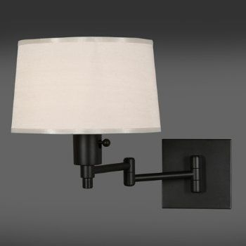 Made In Usa Real Simple By Robert Abbey Swing Arm Sconce 158 Matte Black Finish Swing Arm Lamp Swing Arm Wall Lamps Wall Lights