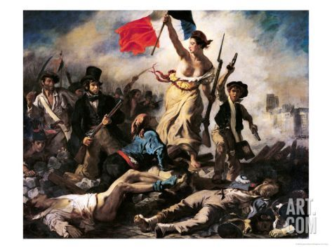 Liberty Leading The People 28 July 1830 Giclee Print Eugene Delacroix Art Com In 2020 Delacroix Paintings Liberty Leading The People Eugene Delacroix