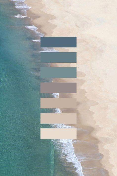 Sea and Sand Color inspiration #color #inspiration #sea #blue #sand