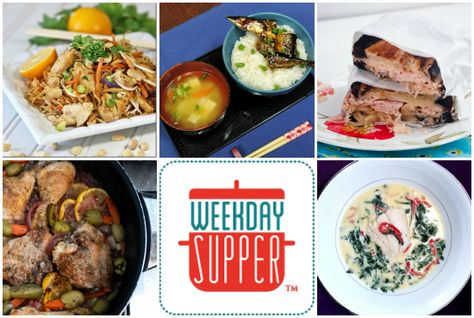 Healthful #WeekdaySupper Recipes for the New Year