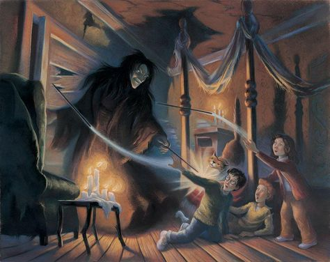 Harry Potter Expelliarmus! Mary GrandPre SIGNED Giclee on Fine Art Paper Limited Edition of 250