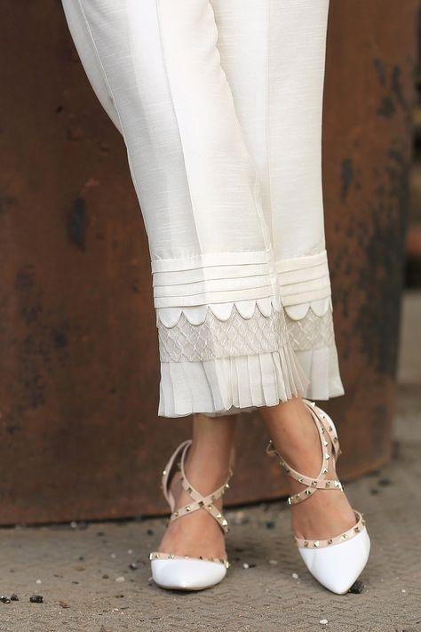 Scallop Trousers – Henna Mehndi