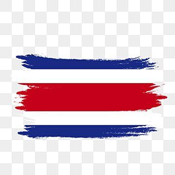 Pincel Pintado De Acuarela Transparente De Bandera De Costa Rica Costa Rica Bandera De Costa Rica Vector De Bandera De Costa Rica Png Y Psd Para Descargar Gr Bandera De Costa