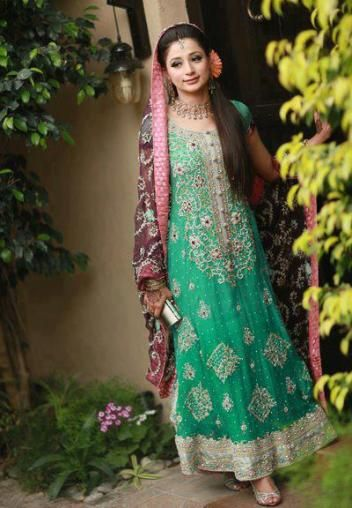 This is the image gallery of Pakistani Bridal Walima Dresses Collection 2014. You are currently viewing Pakistani Bridal Walima Dresses Collection 2014 (9). All other images from this gallery are given below. Give your comments in comments section about this. Also share stylehoster.com with your friends.   #walimadresses, #bridalwalimadresses, #bridaldresses, #pakistaniwedding