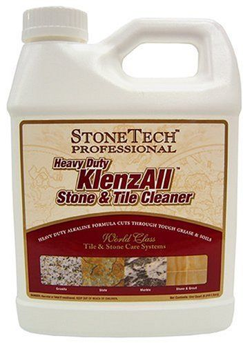Stonetech Ka12 32 Klenz All Stone Tile And Grout Cleaner 1 Quart By Granite City Tool 7 99 Liquid Has A Fresh Scent A Grout Cleaner Degreasers Stone Tiles