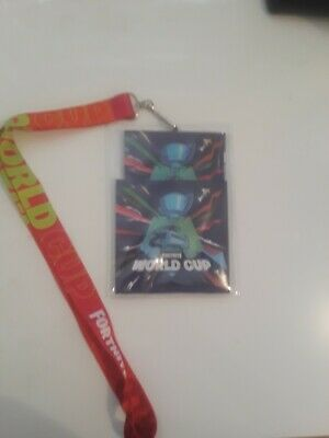 Fortnite World Cup 2019 Map And Lanyard Fortnite Game Codes Epic Games