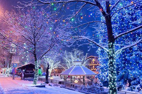 Leavenworth Washington Christmas 2019.Magical Leavenworth Wa Wintery In 2019 Leavenworth