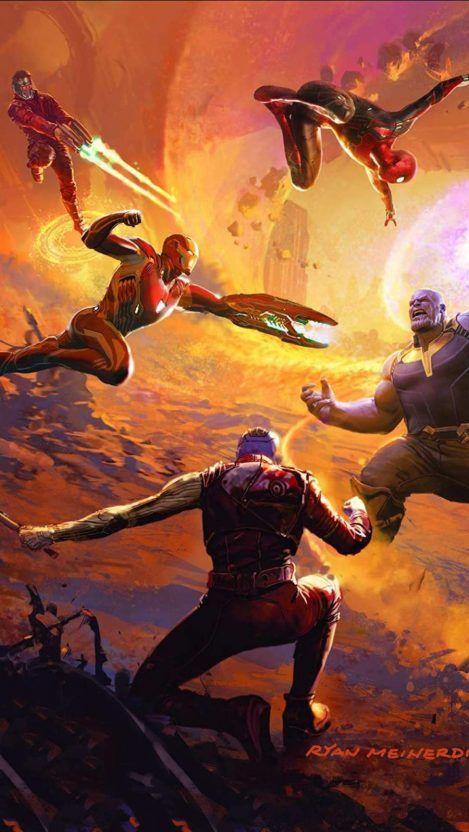 Pin On Marvel Avengers infinity war iphone wallpaper