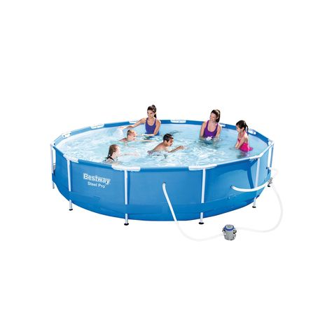 Bestway Steel Pro 12 X 30 Frame Pool Swimming Pools In Ground Pools Above Ground Swimming Pools