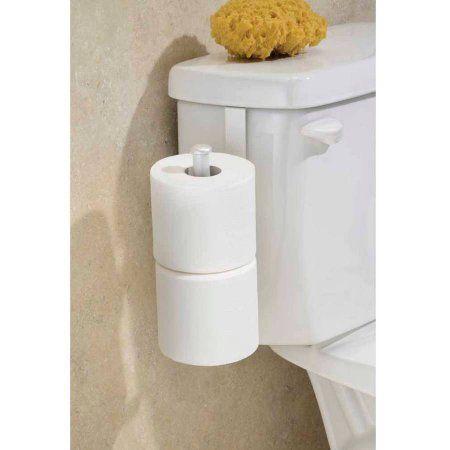 Interdesign Classico Toilet Paper Holder For Bathroom Storage Over The Tank Pearl White Toilet Paper Stand Bathroom Storage Toilet Paper White toilet paper holder