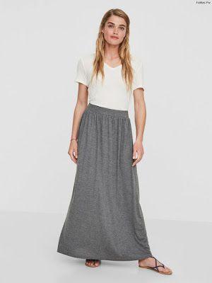 6ff7b27d4 Polleras Largas | Faldas en 2019 | Faldas, Moda y Moda faldas