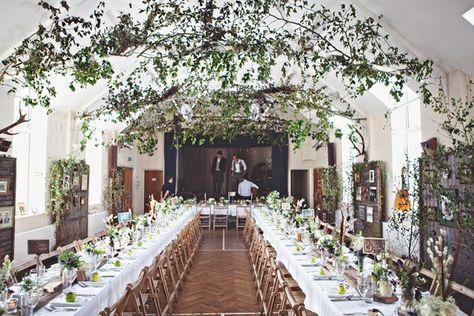 Real wedding inspiration: Venues - Autumn wedding
