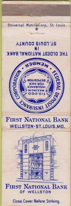 Fist national bank of st louis
