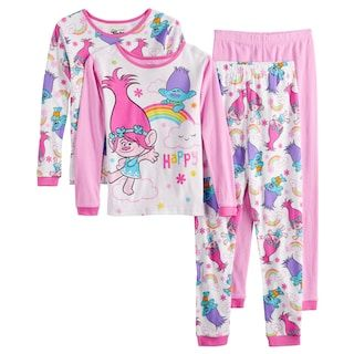 Girls 6 10 L O L Surprise Tops Bottoms Pajama Set In 2020 Pajama Set Pajamas Girls 4