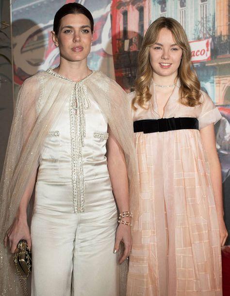 Charlotte Casiraghi et la princesse Alexandra de Hanovre
