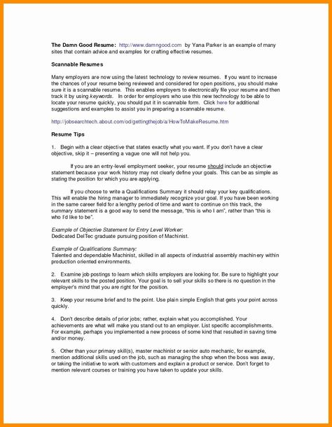 Easy Ways To Write Your Resume Summary Statement Resume Objective Examples Best Resume Engineering Resume